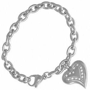 Zales Diamond Accent Sterling Silver Bracelet
